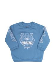 Sweatshirt with tiger head
