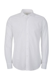 Jacquard fitted shirt