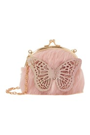 Ombre Butterfly Fluf Bag