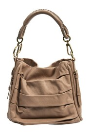 Pre-owned Pleated Hobo