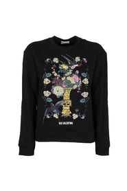 CHINESE LACQUER PRINTED SWEATSHIRT