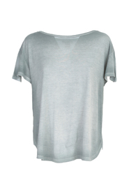 ROUND NECK MICROMODAL T-SHIRT