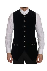 Velvet Slim Fit Formal Vest