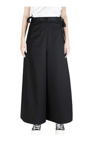 CLASSIC REFINED CROPPED WIDE LEG TROUSERS