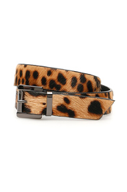 Leopard-printed straps