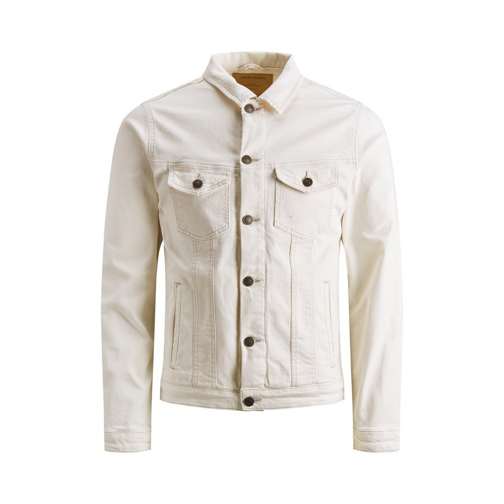 Denim jacket White