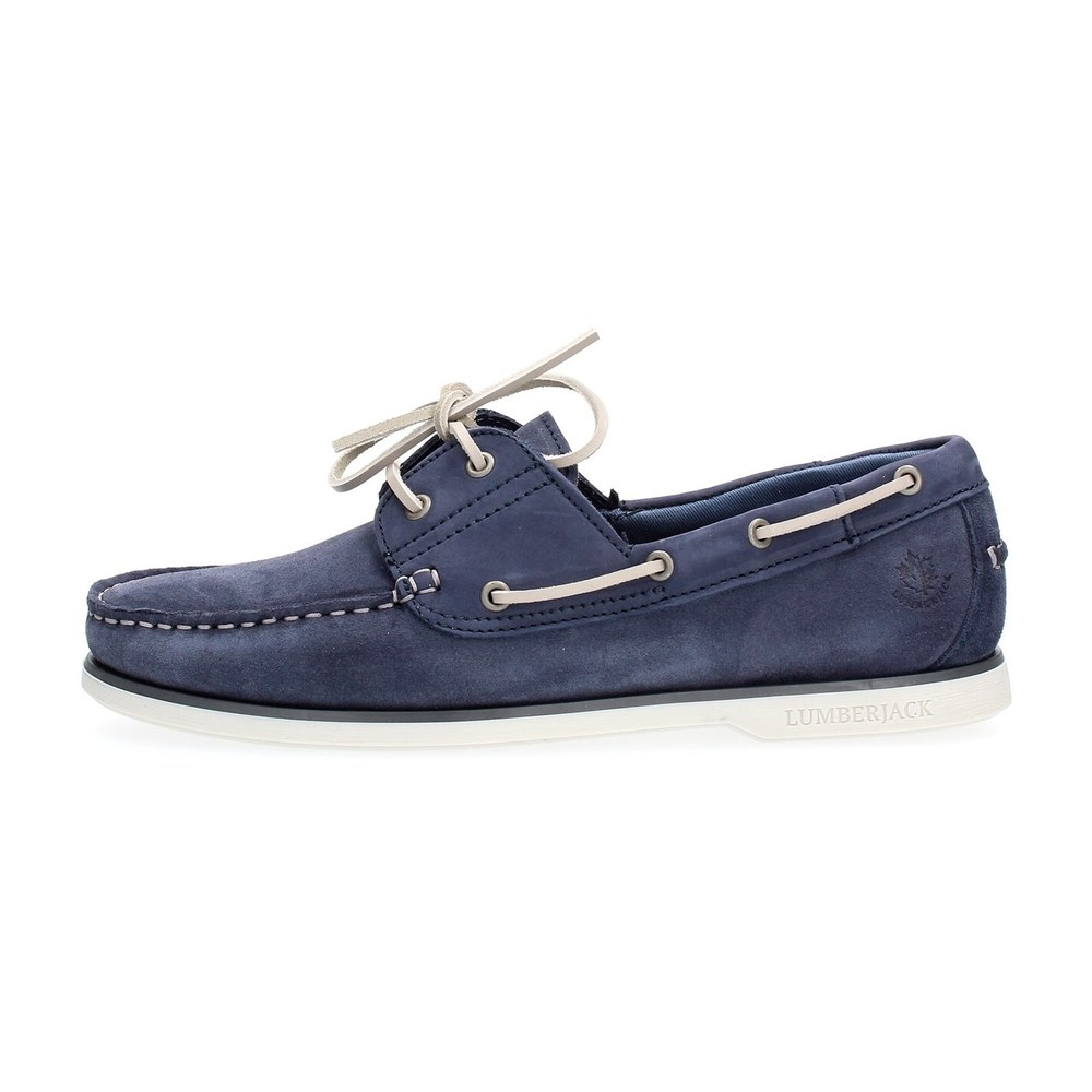 LUMBERJACK NAVIGATOR SM07804 005 LOAFER AND SLIPPERS Men INDIGO