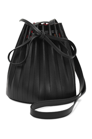 Pleated Bucket Mini Bag