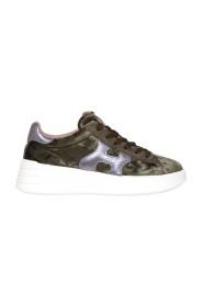 Sneakers H562 Rebel in velluto