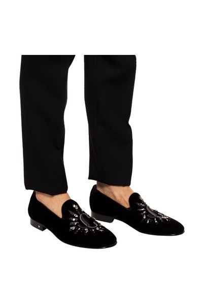BLACK 'Thame' loafers | Jimmy Choo | Loafers