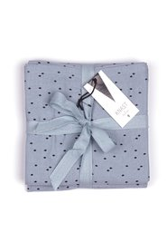 KNAST by KRUTTER - Nappies, Mini Harlequin, 3-pak - Dusty Blue