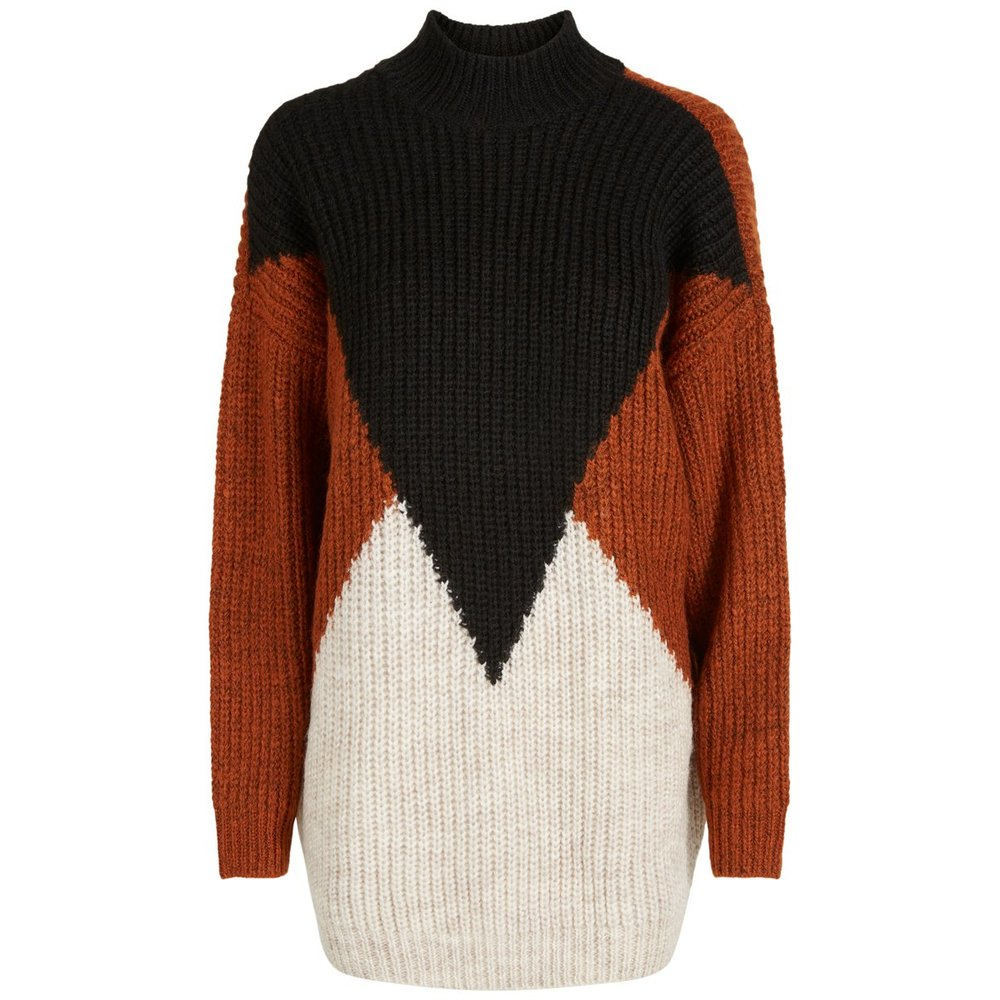 Knitted Pullover Graphic