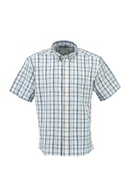 Casual checked short sleeve