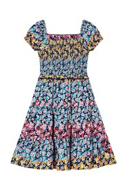 Ditsy Floral Tiered Daywear Dress