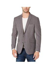Blazer GRegular Suede Two Button Notch
