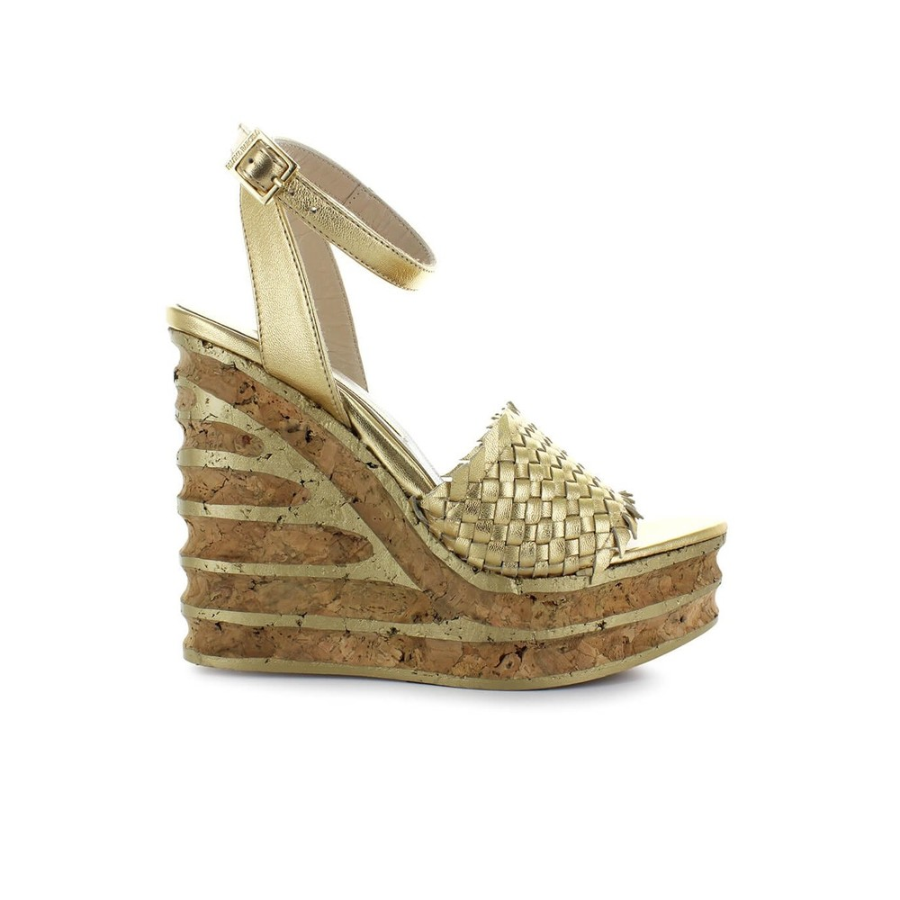 MIMOSA CORK WEDGE SANDAL