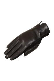 Women's glove in lambskin and neoprene
