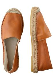 Katie Leather Espadrille
