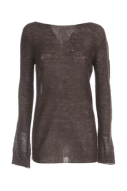 MOHAIR SWEATER BOAT NECK