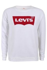 Hvide Levi`s Relaxed Graphic Crew Sweater