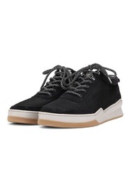 Base Black Nylon Suede