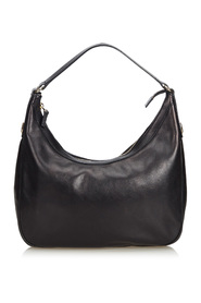 Leather Charmy Shoulder Bag
