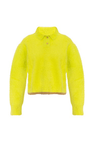 Le Neve sweater with collar