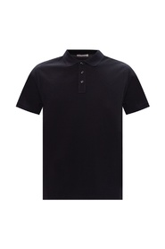 Logo-patched polo shirt