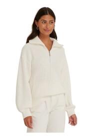 Half Zip-Up Sweater Genser