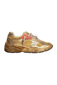 Running Sole distressed-effect sneakers