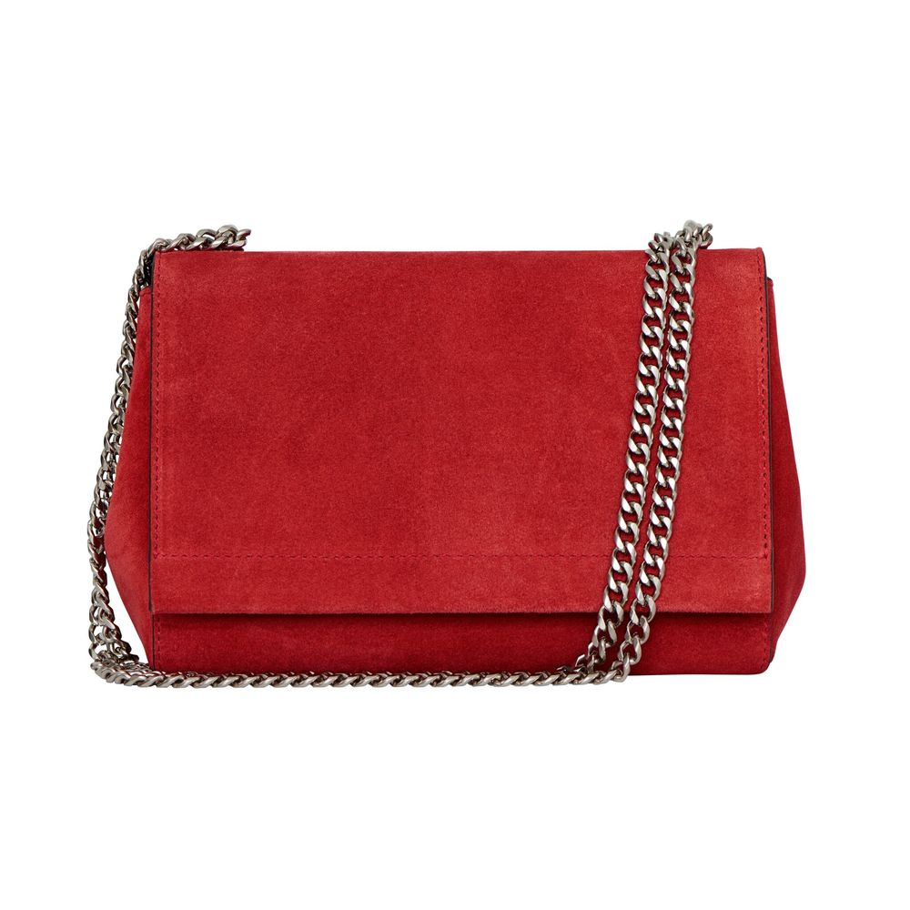 Madelyn Small clutch w. double chain