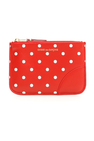 Wallet polka dots pouch