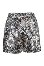 Hight Waisted Print Short
