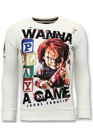 Exclusive Sweater Chucky Childs Play