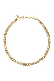 Alexis Necklace in Gold Plated Brass