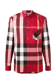 Camicia stretch bd motivo tartan