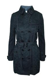 Lace Pattern Trench Coat -Pre Owned Condition Very Good