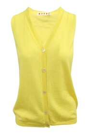 Cashmere Vest -Pre Owned Condition Very Good IT36