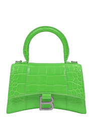 Hour Top Handle Xs Bag in Fluo Shiny Embossed