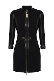 Dress with zip detail