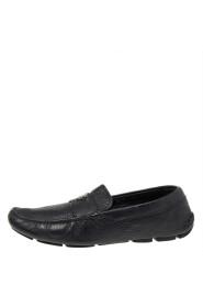 Brukte Leather Slip On Loafers