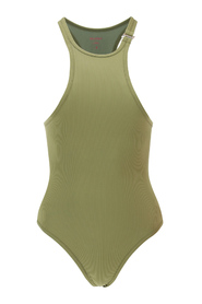 ribbed one-piece swimsuit