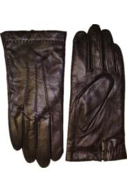 MENS Lammnappa Handskar Wool Mörkbrun