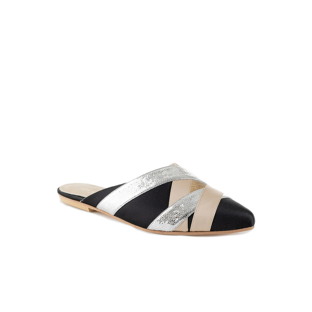 Black Slippers | Gia Couture | Sandaalit | Naisten kengät Halvin