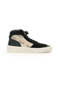 Strapless skate mid sneakers