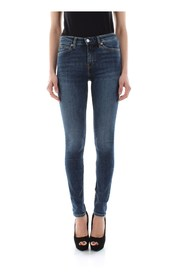 CALVIN KLEIN JEANS J20J207775 - 011 MID RISE JEANS Women DENIM MEDIUM BLUE