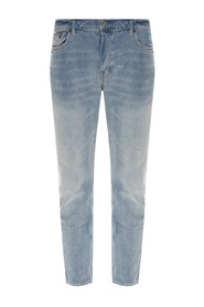'Dean' jeans with worn effect