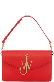 Rød Jw Anderson Accessories Logo Purse Veske