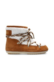 'Dark Side Low Shearling' snow boots