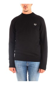 FRED PERRY K7601 JERSEY Men BLACK